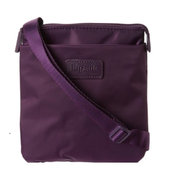 6cae97fda3 Lipault Paris JPF Medium Cross Body Bag (Purple)
